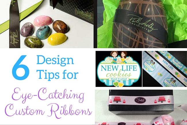 6 Design tips for eye-catching custom ribbon